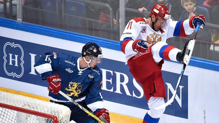 Миро ААЛТОНЕН и Илья КОВАЛЬЧУК. Фото AFP
