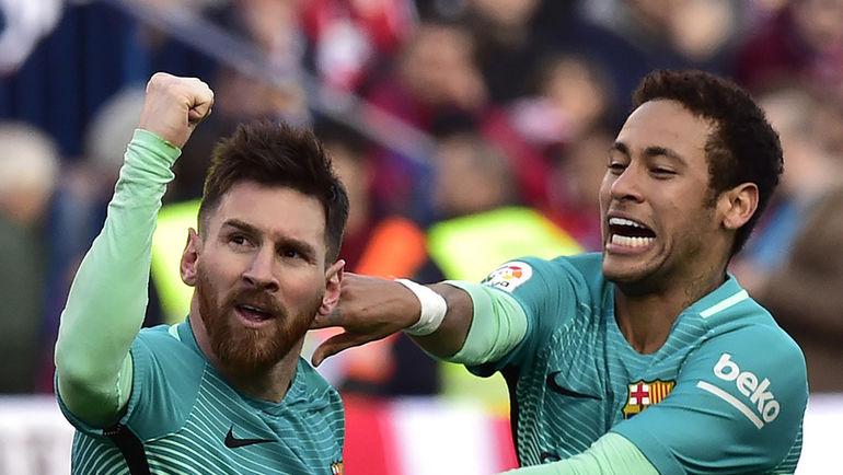 «Барселона» обыграла «Валенсию» исократила отставание от«Реала» до 2-х очков