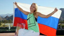 Веснина - победительница турнира в Индиан-Уэллсе