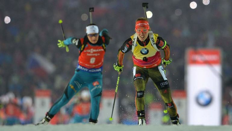 Лаура ДАЛЬМАЙЕР в этом сезоне оставила всех соперниц далеко позади. Фото AFP