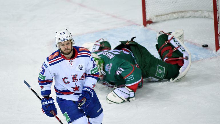 Хоккеисты СКА Войнов иДацюк пока непланируют играть вближайших матчах