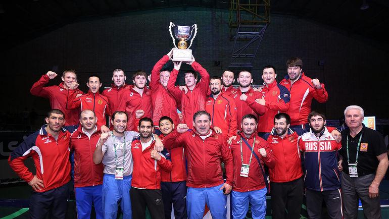 Сборная России - обладатель Кубка мира по греко-римской борьбе!