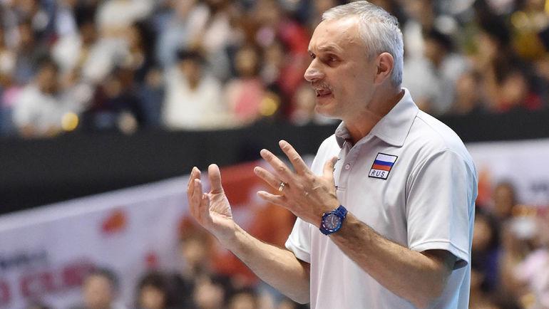 Юрий МАРИЧЕВ. Фото FIVB