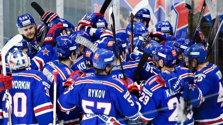 Хоккеисты СКА обыграли «Локомотив» вовтором матче серии
