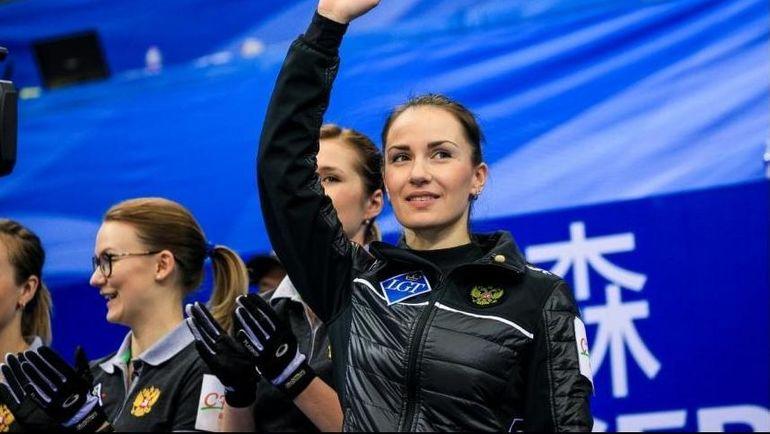 Сборная России - серебряный призер чемпионата мира. Фото worldcurling.org