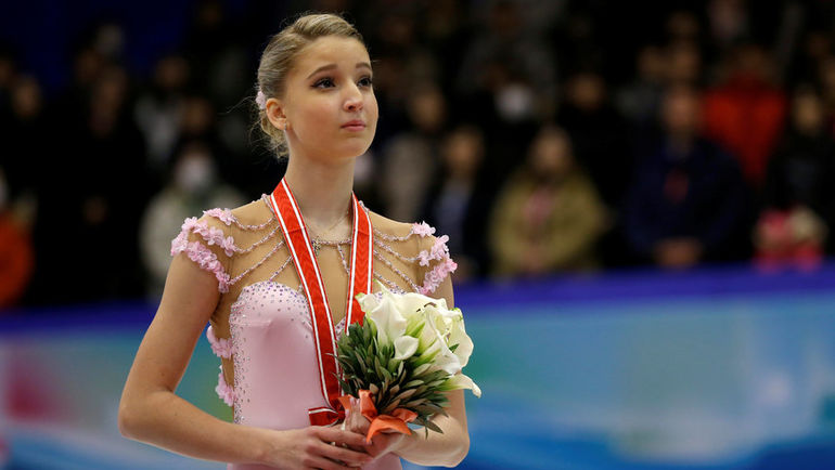 Мария СОТСКОВА (женское одиночное катание). Фото REUTERS