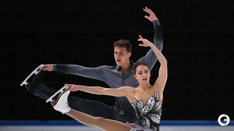 Наталья ЗАБИЯКО и Александр ЭНБЕРТ (парное катание). Фото AFP