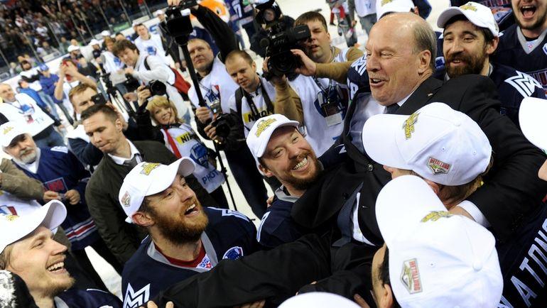 """Майк Кинэн: """"Нынешний СКА вышел бы в плей-офф НХЛ"""""""