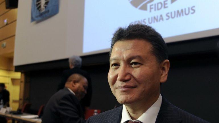 Глава ФИДЕ Кирсан ИЛЮМЖИНОВ. Фото AFP