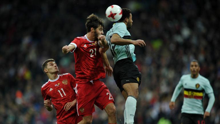 Россия сыграла вничью с Бельгией в Сочи (Видео)