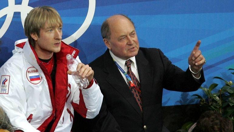 2006 год. Евгений ПЛЮЩЕНКО (слева) и Алексей МИШИН. Фото Александр ВИЛЬФ