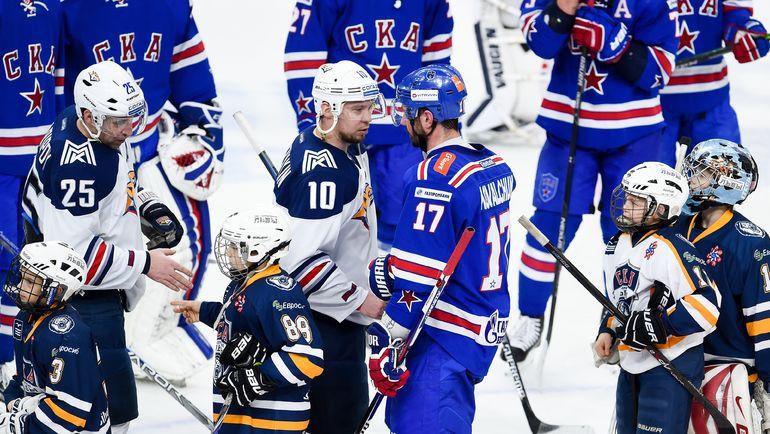 От игры лидеров команд Сергея МОЗЯКИНА (№10) и Ильи КОВАЛЬЧУКА (№17) будет зависеть многое. Фото photo.khl.ru
