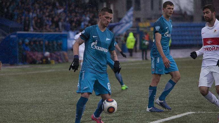 Встреча между вторыми командами «Зенита» и«Спартака» осталась заМосквой