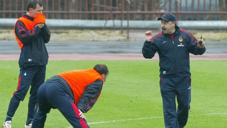 """Сергей ИГНАШЕВИЧ (слева) и Валерий ГАЗЗАЕВ (справа). Фото Алексей ИВАНОВ, """"СЭ"""""""