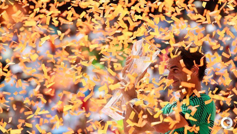 Сегодня. Майами. Роджер ФЕДЕРЕР. Фото AFP