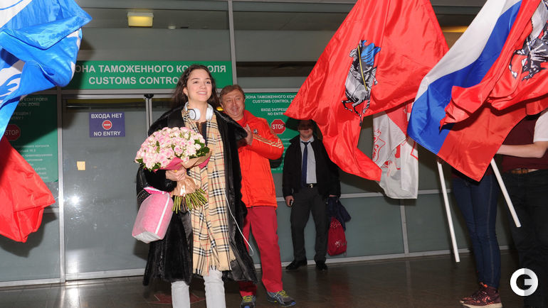 """Сегодня. Москва. Евгения МЕДВЕДЕВА. Фото Александр ФЕДОРОВ, """"СЭ"""""""