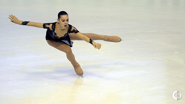 2013 год. Аделина СОТНИКОВА. Фото AFP
