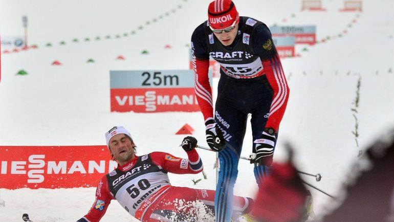 Петтер НОРТУГ (слева) и Петр СЕДОВ. Фото AFP