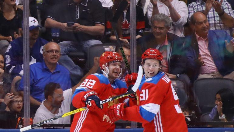 Евгений КУЗНЕЦОВ и Владимир ТАРАСЕНКО. Фото AFP