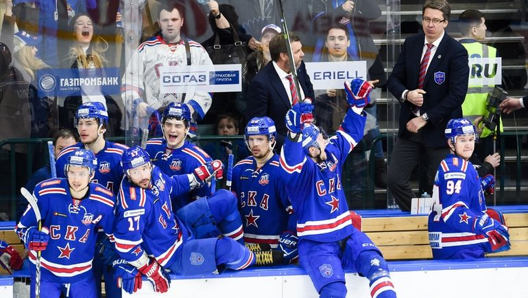 Сможет ли СКА выиграть второй за три года Кубок Гагарина? Фото photo.khl.ru