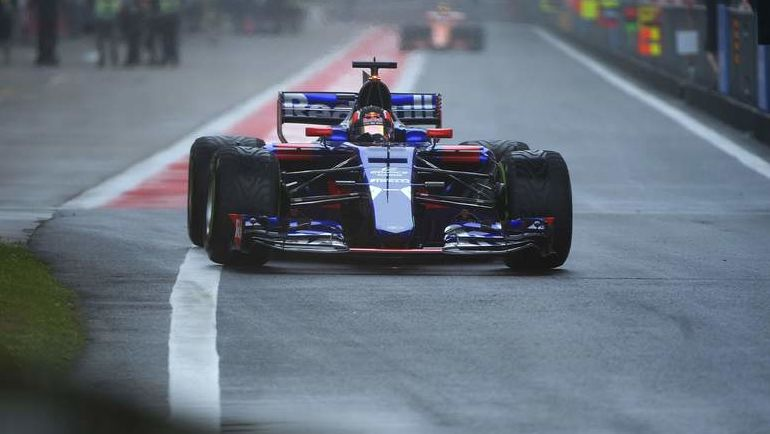 Даниил КВЯТ не смог закончить гонку. Фото REUTERS