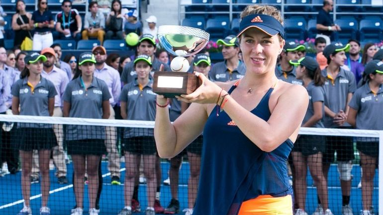 Воскресенье. Монтеррей. Анастасия ПАВЛЮЧЕНКОВА в четвертый раз в карьере выиграла турнир в Мексике. Фото twitter.com