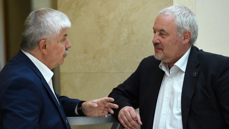 Кирилл ФАСТОВСКИЙ (справа). Фото Владимир БЕЗЗУБОВ, photo.khl.ru