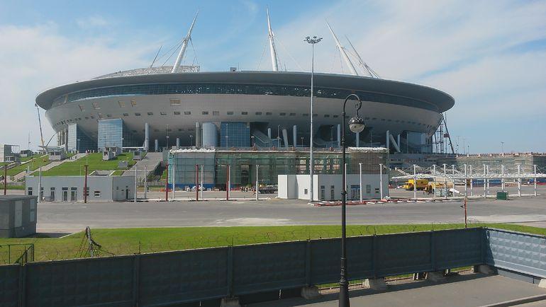 "Стадион ""Санкт-Петербург"". Фото Сергей ЦИММЕРМАН"