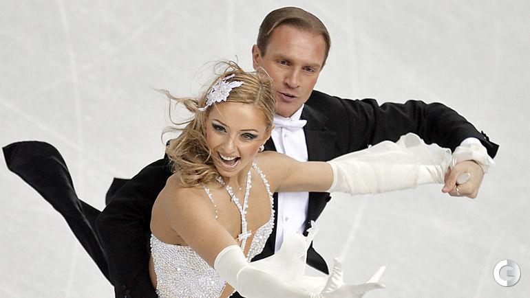 2006 год. Татьяна НАВКА и Роман КОСТОМАРОВ на Олимпийских играх в Турине. Фото AFP