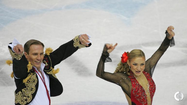 2006 год. Татьяна НАВКА и Роман КОСТОМАРОВ на Олимпийских играх в Турине. Фото Александр ВИЛЬФ