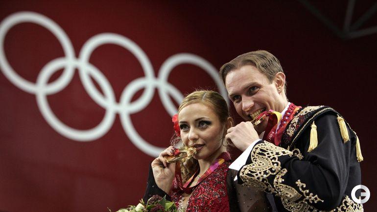 2006 год. Татьяна НАВКА и Роман КОСТОМАРОВ на Олимпийских играх в Турине. Фото REUTERS
