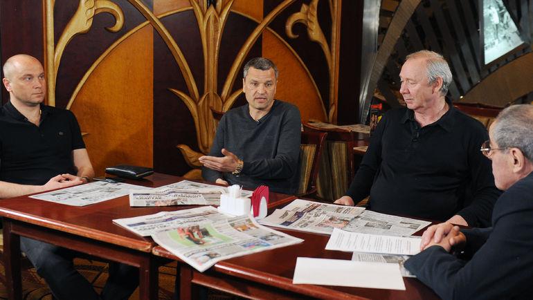 Дмитрий Хохлов, Юрий Никифоров и Олег Романцев и Александр Львов