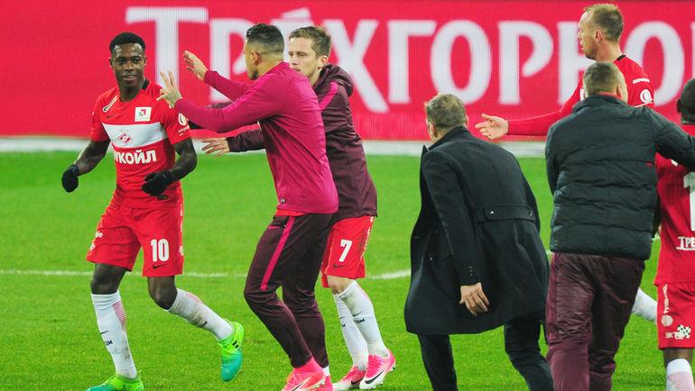 «Арсенал» заинтересован вфутболисте «Спартака» Промесе
