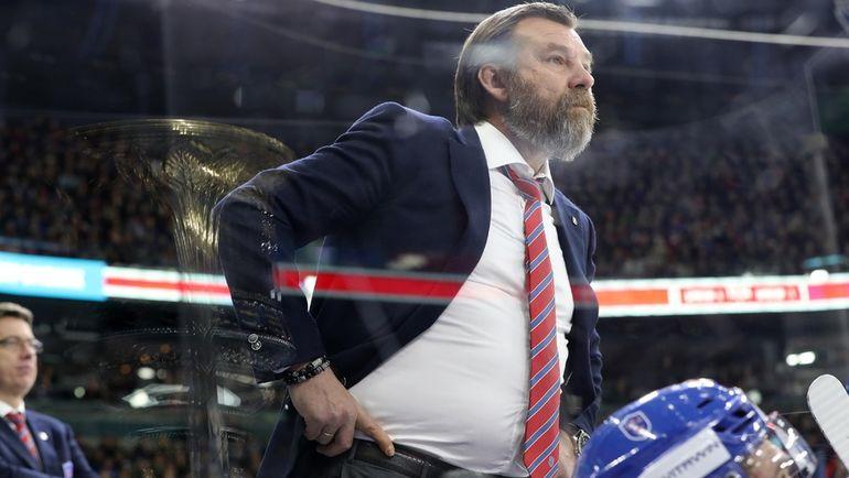 Олег ЗНАРОК. Фото Андрей ГОЛОВАНОВ, photo.khl.ru