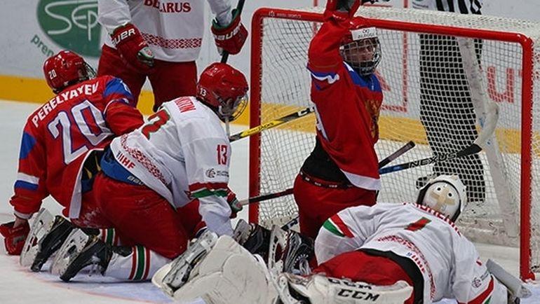 Сегодня. Спишка-Нова-Вес. Россия - Белоруссия - 4:1. Эту игру россияне не смогут занести себе в актив. Фото ФХР