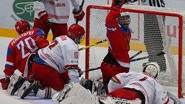Тревожно! Россия с трудом обыграла Белоруссию