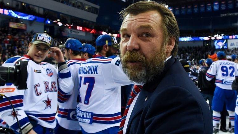 Главный тренер СКА Олег ЗНАРОК. Фото ХК СКА