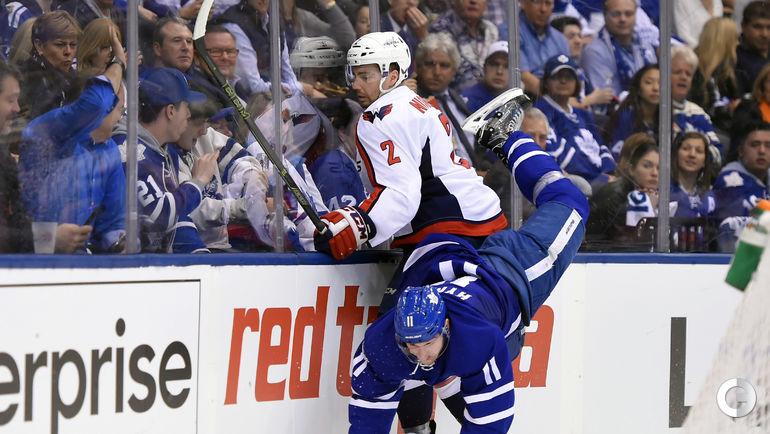 """Сегодня. Торонто. """"Торонто"""" - """"Вашингтон"""" - 4:3 ОТ. Фото AFP"""