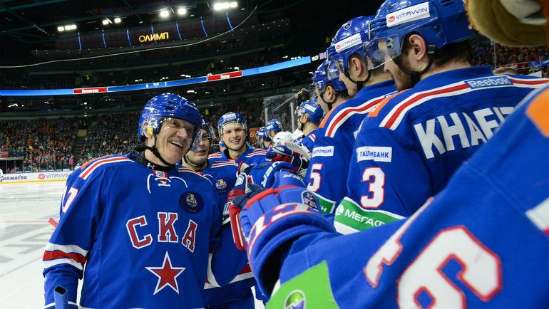 Геннадий ТИМЧЕНКО (слева). Фото photo.khl.ru