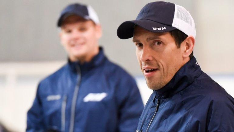 Павел ДАЦЮК попал в заявку на гала-матч, но на лед не вышел. Фото ХК СКА