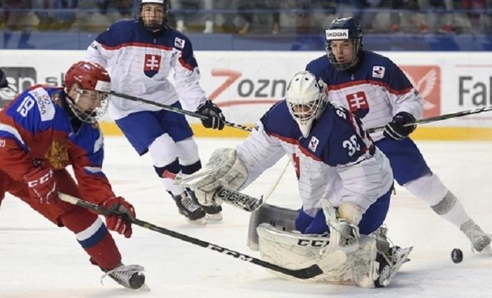 Сегодня. Спишска Нова Вес. Россия - Словакия - 3:2 ОТ. Россиянам лишь в овертайме удалось вырвать победу у хозяев турнира. Фото Официальный сайт IIHF