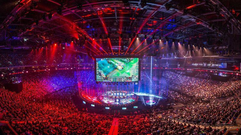 Чемпионат мира по League of Legends. Фото Riot Games.