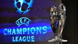 Жеребьевка полуфиналов Лиги чемпионов и Лиги Европы.