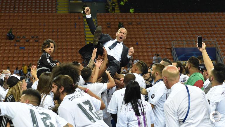 """28 мая 2016 года. Милан. """"Реал"""" - """"Атлетико"""" - 1:1, пен. - 5:3. """"Реал"""" - победитель Лиги чемпионов. Фото AFP"""