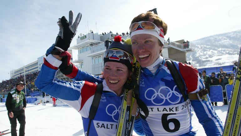 Ольга ПЫЛЕВА (слева) и Галина КУКЛЕВА. Фото Александр ФЕДОРОВ,