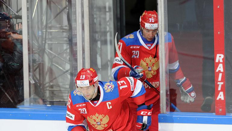 """Павел ДАЦЮК (№13) и Илья КОВАЛЬЧУК. Фото """"СЭ"""""""