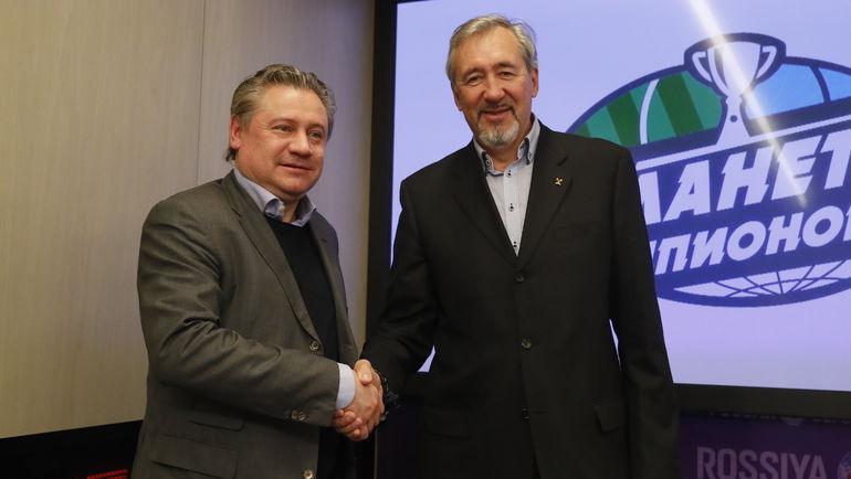 Андрей КАНЧЕЛЬСКИС и Сергей ТАРАКАНОВ.