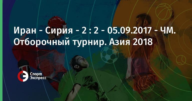 Отборочный турнир азия чемпионат мира 2018