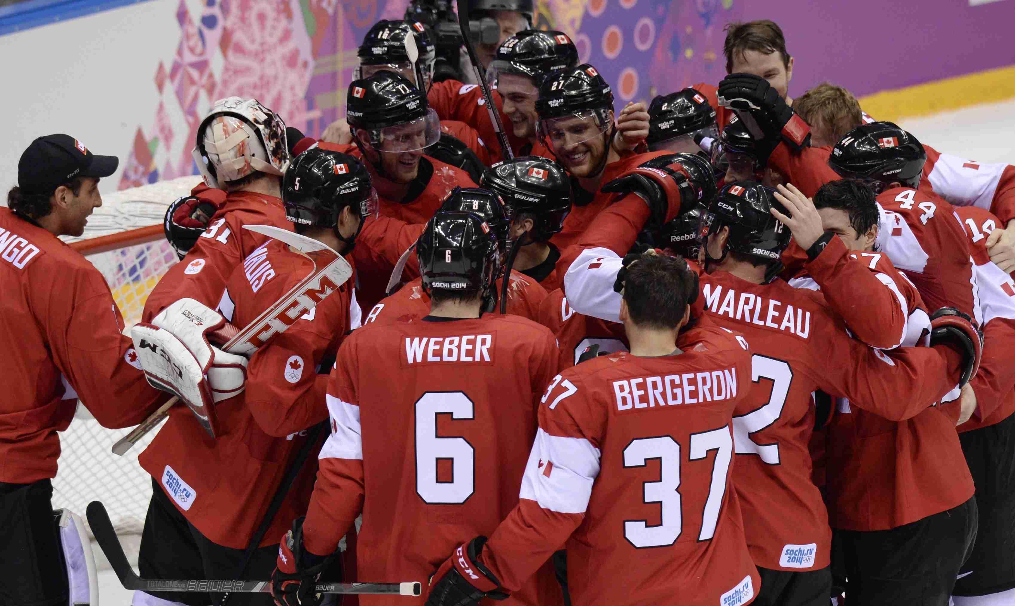 Канада выиграла у Швеции в финале Олимпиады в Сочи
