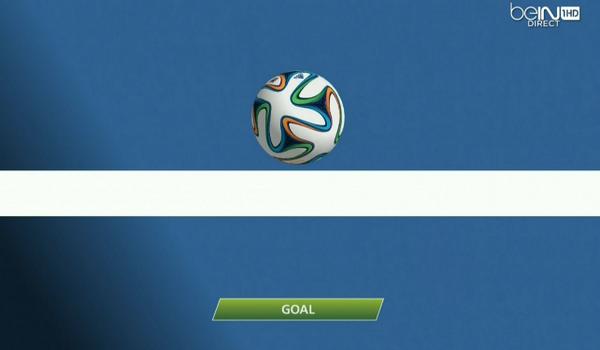 Второй мяч французов, записанный на вратаря сборной Гондураса, стал первым, который был засчитан с помощью электронной системы определения взятия ворот.